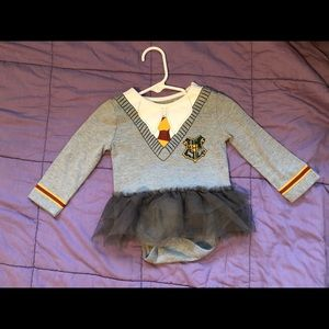 Harry Potter onesie with matching head band